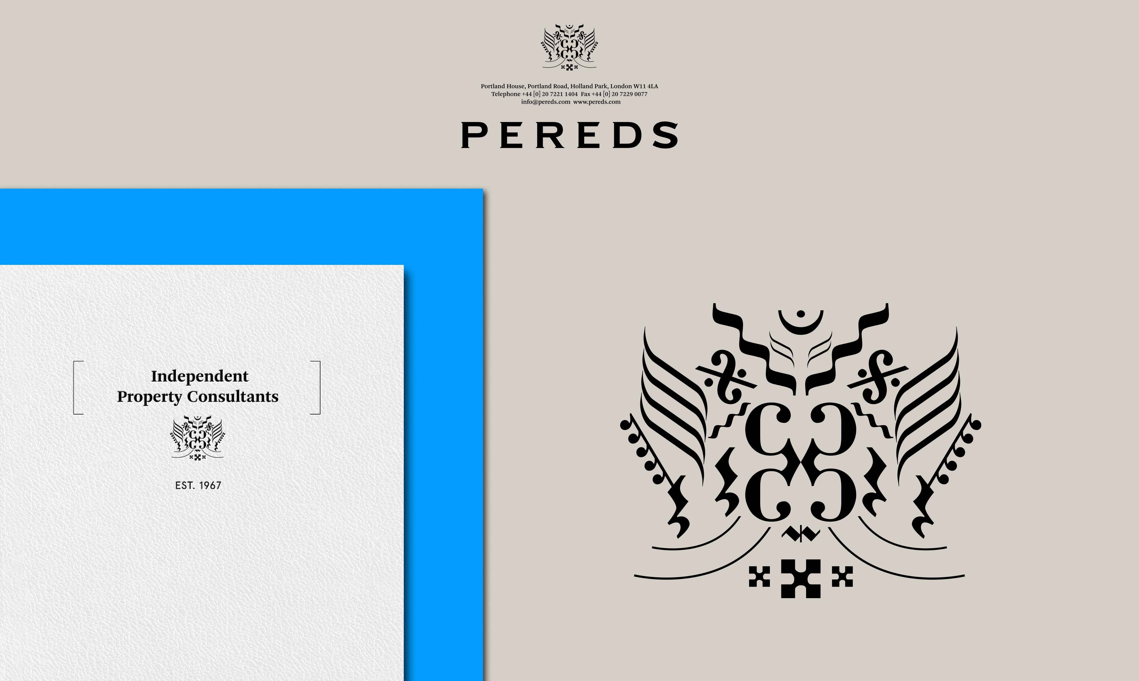 Pereds, London Property Consultants | Identity